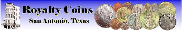 Specializing in US Collectible Coins - Silver, Gold, Copper, Certified and Raw